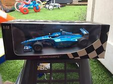 Jenson Button 1:18 Benetton 1st test drive ltd Ed