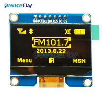 1.54 inch Yellow OLED Display Module I2C Interface 3.3-5V SSD1309