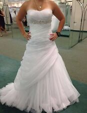 wedding dress, this is a size 8.  This dress was from David's bridal.