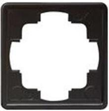 Gira S-Color schwarz, RAHMEN 1-FACH 021147