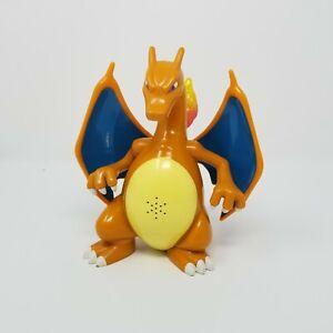 """2004 Hasbro Pokemon Charizard Electronic Roaring Light Up 7"""" Figure"""