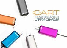 FINsix Dart world's smallest+LIGHTEST@3oz universal laptop charger ALL COLORS:🎨