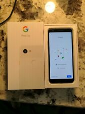 Pixel 3a Clearly White T-Mobile Excellent Condition Bundle!