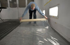 "Paint Booth Self Adhering CLEAR Floor Film 30"" x 120'  RB 419 - FREE SHIPPING"