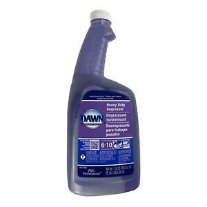 Dawn Heavy Duty Degreaser 32 oz Refill Bottle - Refill Only - No Trigger Sprayer