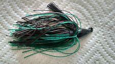 3/8oz Swim Jig Black & Green