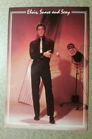 """Vintage Elvis Presley """"Suave and Sexy"""" Postcard - Exc. Condition!"""