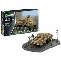 "REVELL Sd.Kfz. 234/2 ""Puma"" 1:76 Tank Model Kit 03288"