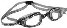 MP Michael Phelps K180 Plus Swimming Goggles - Black/Silver