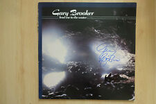 "Gary Brooker Autogramm signed LP-Cover ""Lead me to the Water"" Vinyl"
