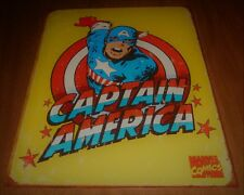 2007 Marvel Comics Retro 16 x 12 Tin Sign Hang - Captain America - Used