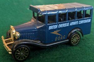 Corgi Bedford Bus BOAC Made In Great Britain 1993 with box Mattel UK Ltd