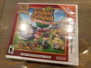 Animal Crossing New Leaf Welcome Amiibo Nintendo 3DS Brand New Sealed 2017