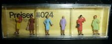 Preiser, Vintage, New Package, Item# 4024, Ho scale, Group of Women, 6x