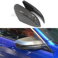 Fit For Honda Add On Mirror Cover Cap Civic 10th 4-Door Carbon Fiber 2015 2016+