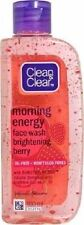 Clean & Clear Morning Energy Face Wash - Brightening Berry 100ml