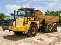 2015 Komatsu HM300-5 Articulated Dump Truck 30-Ton A/C Cab Off Road ADT bidadoo