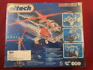 Eitech C73 Helicopter Solar Metal Building Kit Construction Toy German - New