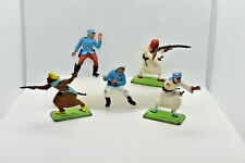 Vintage Britains Deetail French foreign Legion & Arabs Plastic Toy Soldiers 1:32