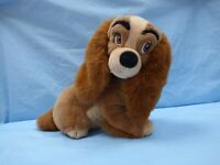 "Vintage Disney Classics Trudi 14"" Lady and the Tramp Soft Toy Plush Cuddly Doggy"