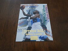 1997 SkyBox Premium Double Trouble Tyrone Hill Card #266