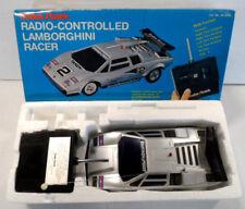 Radio Shack Radio Controlled RC Lamborghini Racer Vintage Tested Works!