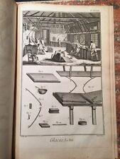 Enciclopedie Diderot 1752-1770: Manufacture des glaces, Specchi, 47 tavole