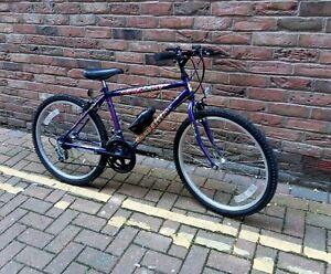 "Falcon Graffiti 24"" Boys Junior Mountain Bike Rigid Frame 12 Speed MTB Cycle"