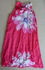 NWT One Red Fly Girls Watermelon Lotus Flower Summer Party Dress Size 12