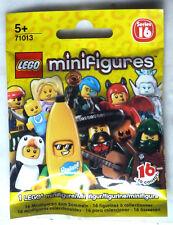 lego CHOOSE your  MINIFIGURES série n° 16 réf. 71013 NEUF et FERMÉ
