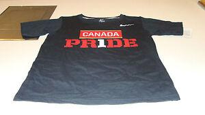 Team Canada 2014 Sochi Olympics Small Black Team Pride Hockey T Shirt Youth