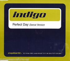 INDIGO - Perfect Day: Dance Version (UK 4 Tk CD Single Pt 1)