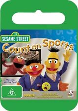 Sesame Street - Count On Sports (DVD, 2008) - Region 4