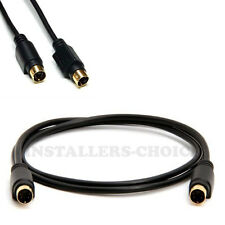 12ft Super Video S-Video Male to Male Cable TV VCR Monitor Universal Cord