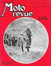 MOTO REVUE . N° 1603 . 4 aout 1962 . Le cross en Europe .