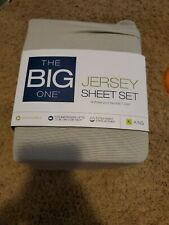The Big One Jersey Sheet Set Size King