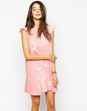 """Wildfox Couture """"Swallows"""" Wildflower Dress, Peaches color, Size S"""