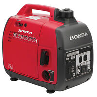 HONDA EU2000i Super Quiet Generator - FREE SHIPPING in lower 48