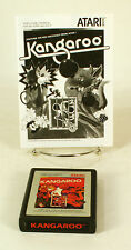 Atari 2600 game Kangaroo With Instructions Tested and Working