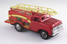 Vintage Metal King Tin (Friction) Fire Engine MF 163 Made in China w/Box
