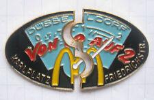 M/Düsseldorf/de 0 a 2... 2 Mc Donald's puzzle-Pins (105a)