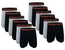 Different Touch Men  Big & Tall Classic Long Leg Length Boxer Briefs Underwear