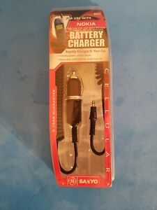 BRAND NEW Nokia Cell Phone Car Battery Charger For 252,282,3285,6360 & 8265 *A4*