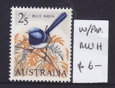 2/5 Blue Wren White Paper Muh