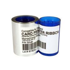 DC285SL Silver Ribbon For Datacard CP40 CP60 CP80 Card Printer 1000 Prints
