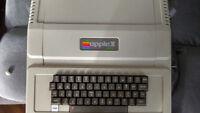 Apple II Plus computer - working - unidrive - AS IS - orig receipt low SN