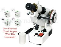 Optical Lensmeter Manual Lensometer External Reading Prism Unit
