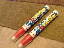 2 x Aqua Doodle eau Stylos Dessin Pen No Mess Recharge Vendeur Britannique Aquadoodle