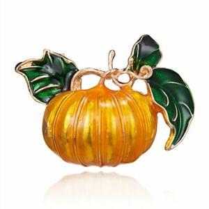 Halloween Pumpkin Enamel Lapel Brooch Pin Badge Breastpin  Jewelry Party Gifts