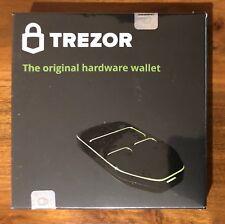 Trezor Cryptocurrency Hardware Wallet - Black